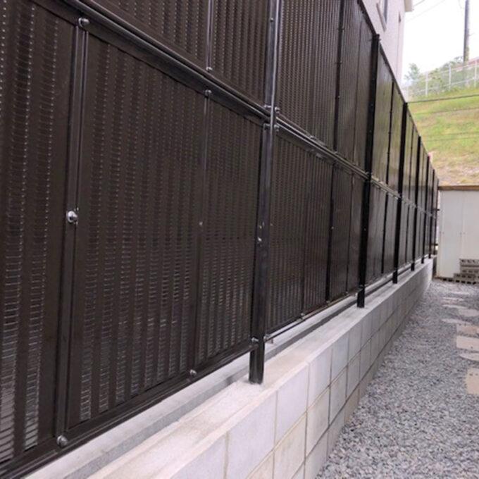東区 CB+フェンス取付