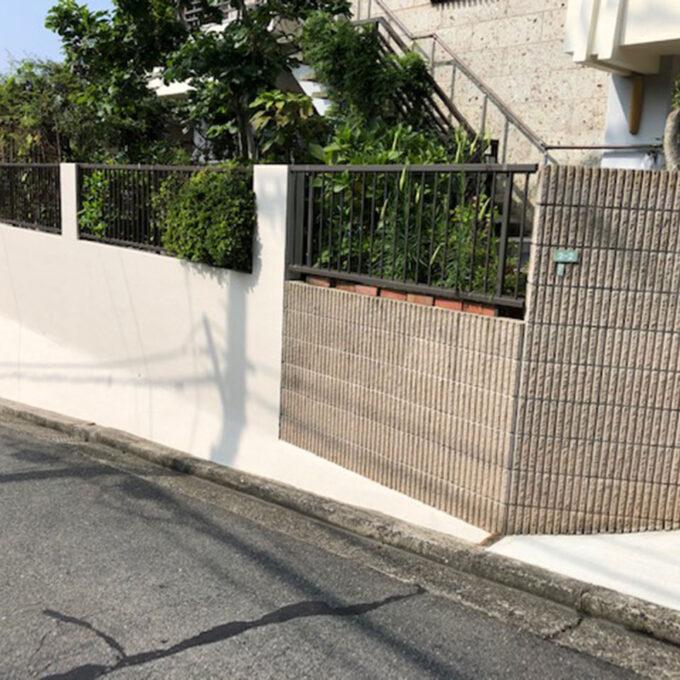 東区 外壁ブロック塗装工事