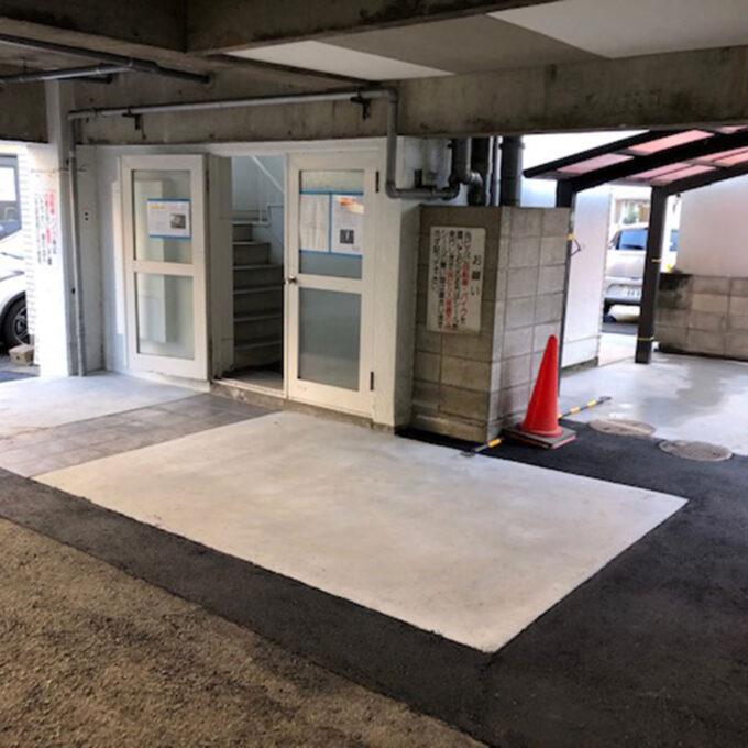 中区 駐輪場整備工事