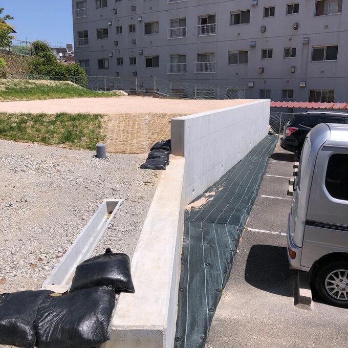 西区 L型擁壁工事